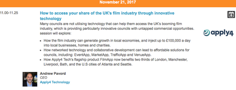 How innovative technology is helping councils access their share of the UK's £1.6bn film industry