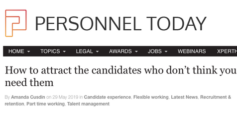How to attract the candidates who don't think you need them