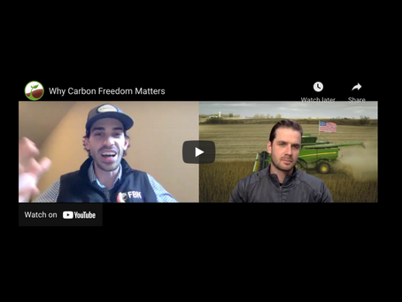 """[VIDEO] """"Why Carbon Freedom Matters"""" - FBN Co-Founder Charles Baron and Gradable's Steele Lorenz"""