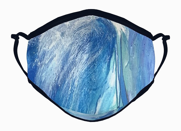 head above water face mask