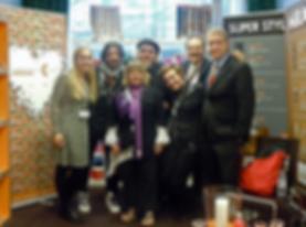 Sigel & Sue with Compagnia Del Colore Team in Bologna