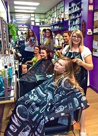 MetrOasis Hairdressing Area