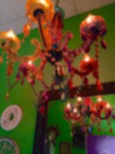 MetrOasis Venezia Esthetician Room Chandelier