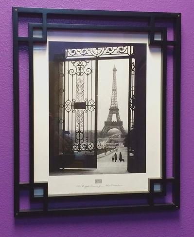 MetrOasis Paris Esthetician Room Eiffel Tower Photo