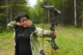 Sue Shooting Bow