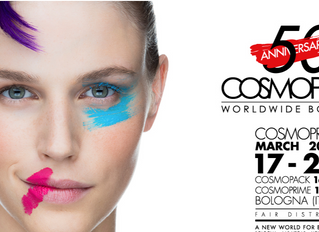 We're attending the 50th Anniversary of Cosmoprof Bologna in Italy. Want to join us?