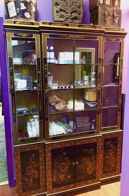 MetrOasis Esthetician Hallway Storage Cabinet
