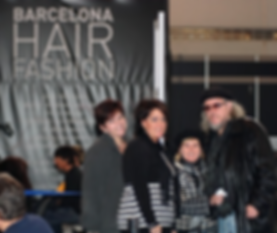 Sigel & Sue with two MetrOasis students in Barcelona