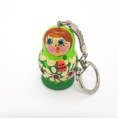Russian Doll Keyring Collectable
