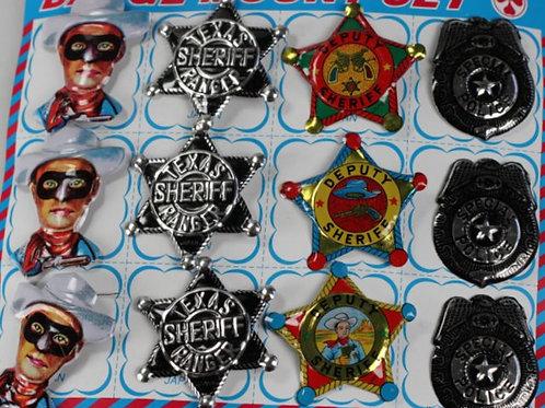 Tin Law Enforcer Badges