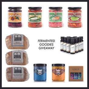 FERMENTED GOODIES GIVEAWAY