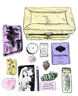 Sensory Box Illustration