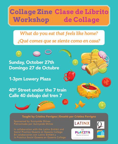 Zine Workshop Poster La Placita