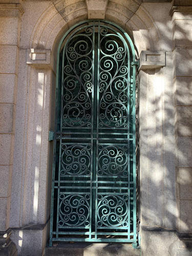 Greenwood door
