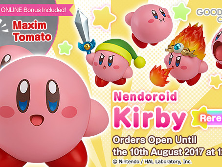 Nendoroid Kirby re-released and available for pre-order!