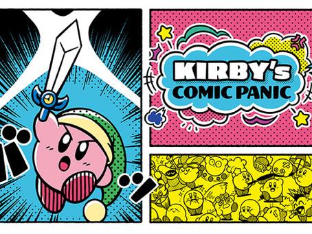 Kirby's Comic Panic merchandise!