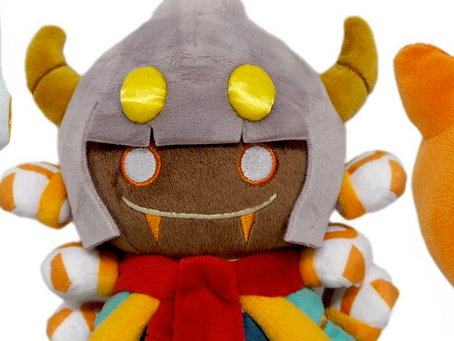 Susie, Taranza, and Scarfy Plushies up for Preorder on Play-Asia