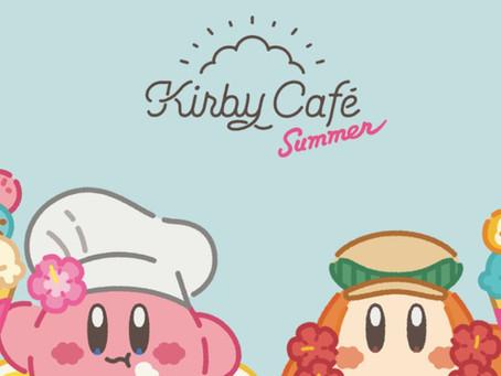 Kirby Café new Summer merchandise!