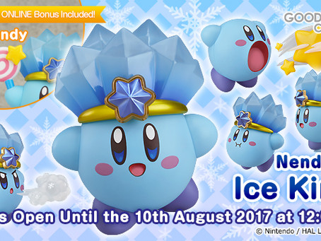 Nendoroid Ice Kirby available for pre-order!