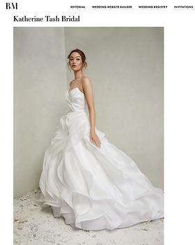 Katherine Tash Bridal Nova Bridal Musing