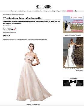 Bridal Guide Katherine Tash Bridal Ren W
