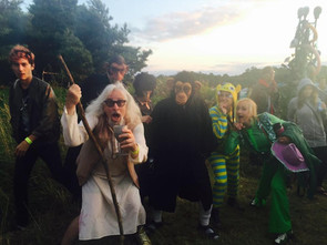 JAYMZ BEE AS GANDALF AT THE FUNNY FARM