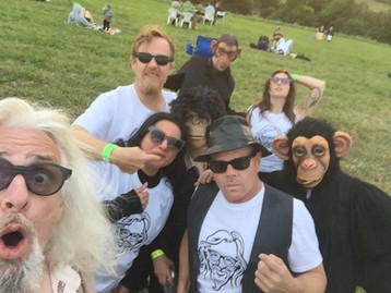 JAYMZ BEE FANS AT THE ELECTRIC-ECLECTIC FESTIVAL