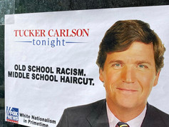 Tucker Carlson: Old School Racism. Middle School Haircut.