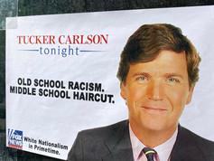 Tucker Carlson: Old School Racism. Middle School Haircut.