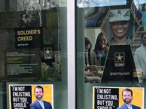 Don Jr. Army Recruitment Ads