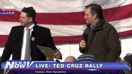 Ted Cruz is sad and weird
