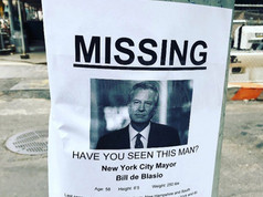 Missing: Bill deBlasio