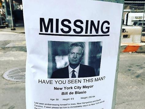 Missing: Bill deBlasio