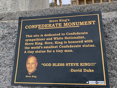 Steve King's Confederate Monument