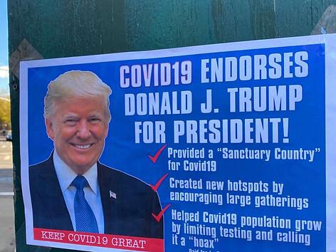 Covid19 Endorses Donald Trump