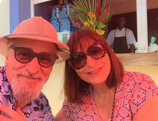 JAYMZ BEE AND JEANNE BEKER IN CUBA