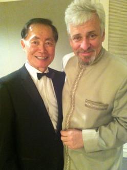 JAYMZ BEE AND GEORGE TAKEI (SULU)