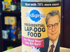 Bill Barr's Presidential Lap-Dog Food