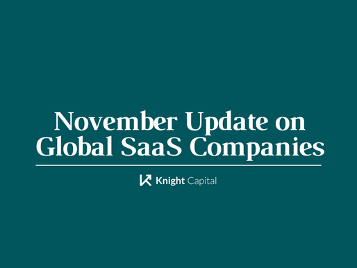 November Update on Global SaaS Companies