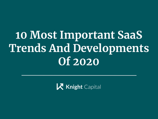 10 Most Important SaaS Trends And Developments Of 2020