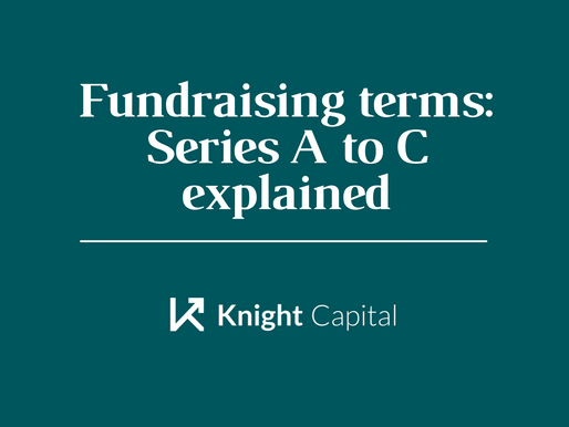 Fundraising terms: Series A to C explained