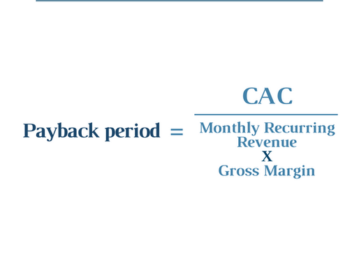 Why the best SaaS companies have a payback period of 0 months!