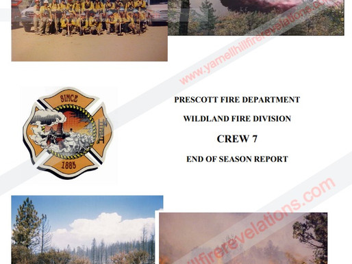 To Post Or Not To Post The Prescott FD Crew 7 - GMIHC End of Season Reports? That Is The Question.