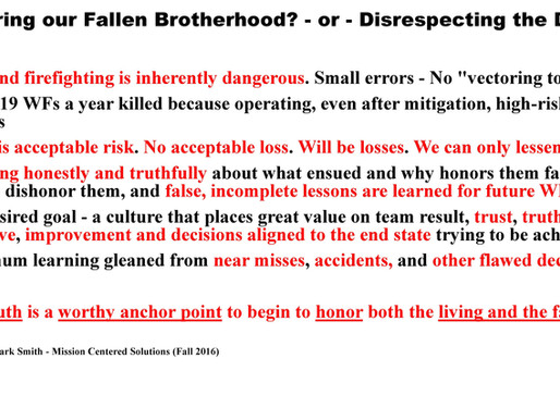 Part 1 of 5 - Underneath every simple, obvious story about human error,' there is a deeper, more c-B