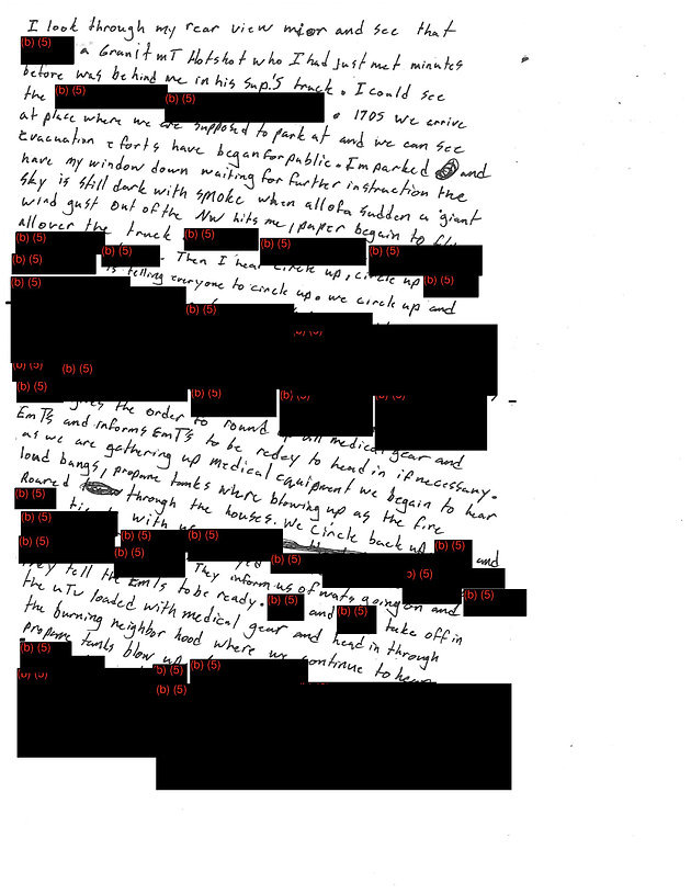 ee3aeb4d3 Figure 10. PDF in JPEG format image of Blue Ridge Hot Shot (BRHS) multiple,  moderate to heavily redacted BRHS