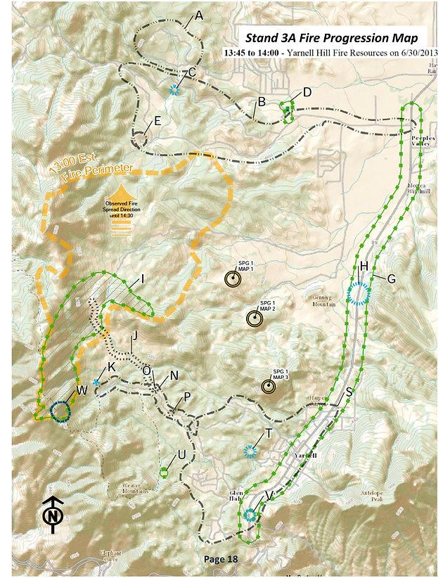 Staff Ride PART ONE - Do The Yarnell Hill Fire Staff Rides by ... on prescott az map, flagstaff az map, octave mine map, hannagan meadow az map, sun city arizona zip code map, bumble bee az map, sahuarita az map, greasewood az map, linden az map, az wildfires current map, show arizona fires on map, summerhaven az map, harquahala valley az map, village of oak creek az map, arizona doppler radar weather map, pinetop-lakeside az map, congress az map, kachina village az map, anthem az map, springerville az map,