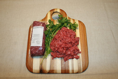 80/20 Burger - $5.45 lb