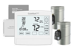 C365A Thermostat with Airflow Control for 2 Zones.