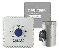 WDC Wireless Airflow Wall Control for 1 Zone