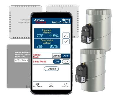 BTAC365 Bluetooth Automatic Airflow Control